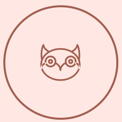 Joy of Life Cute Owl Icon - Joy of Life Surrogacy